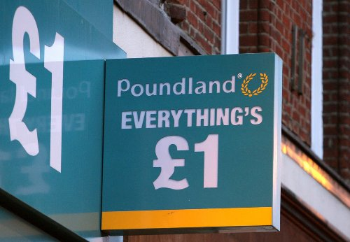 One in 10 products at Poundland no longer £1