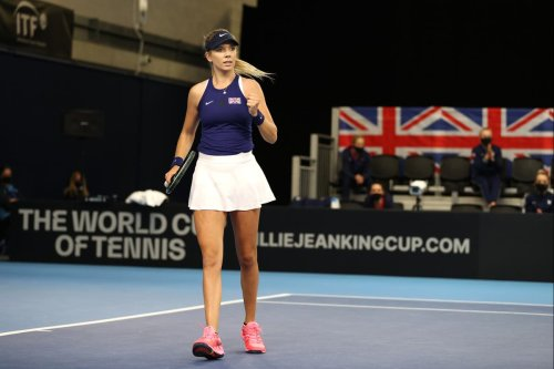 Boulter seals GB victory over Mexico in Billie Jean King Cup playoff