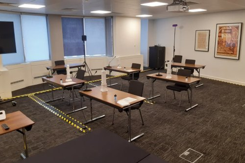 Square Mile conference centre becomes London's latest court