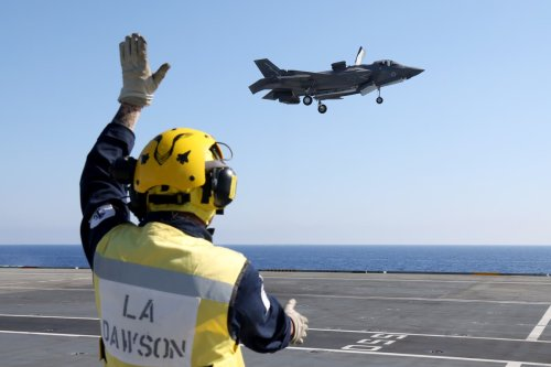 Covid-19 outbreak in Royal Navy-led Carrier Strike Group