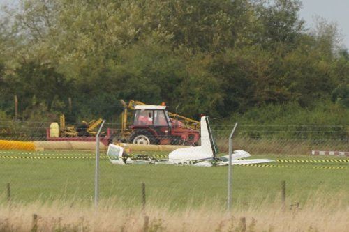 Teesside Airport runway closed after light aircraft incident injures three