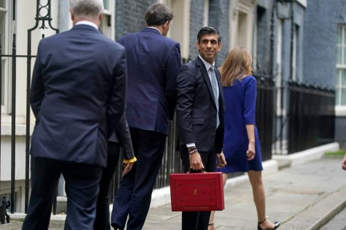 Rishi Sunak's message to Tories: I will cut taxes before next election