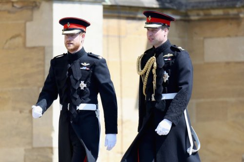 Princes William and Harry will walk behind Philip's coffin at funeral