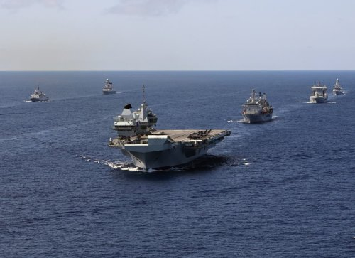 China tells UK to 'obey the rules' as Navy enters South China Sea