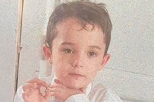 Search under way for seven-year-old boy missing since Sunday evening