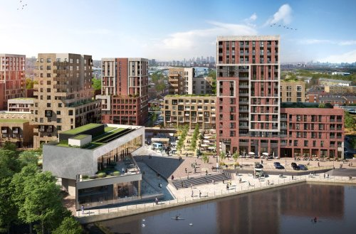 Vast homes schemes across London with work hubs and transport links