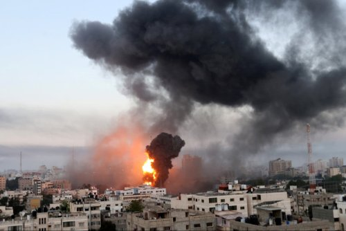 'Israel has a right to defend itself, ' says James Cleverly