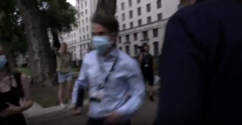 BBC journalist chased by anti-lockdown protesters