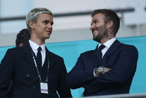 David Beckham's son Romeo makes professional football debut