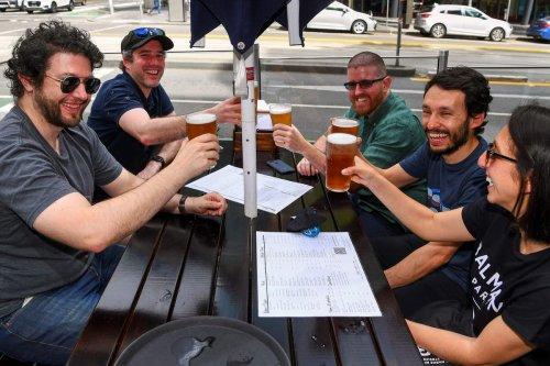 Melbourne parties after enduring world's longest lockdown