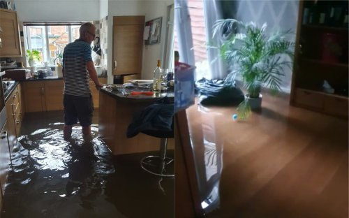 'Heartbreaking': Family home of 34 years hit by floods during post-Covid reunion