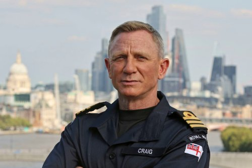 Daniel Craig named an honorary Commander in the Royal Navy