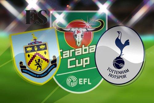 Burnley vs Tottenham: Carabao Cup - LIVE!