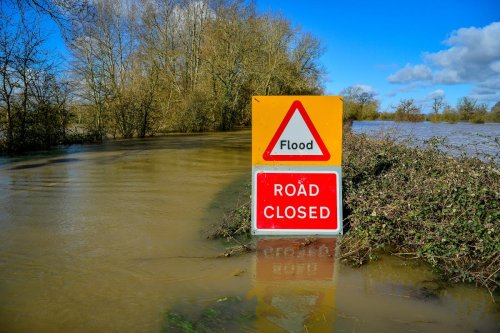 Flooding alerts issued as month's worth of rain forecast for parts of UK