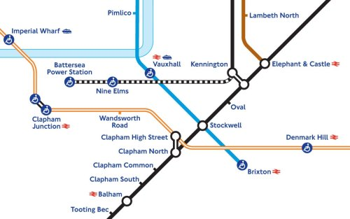 Tube map redrawn to include Northern Line extension