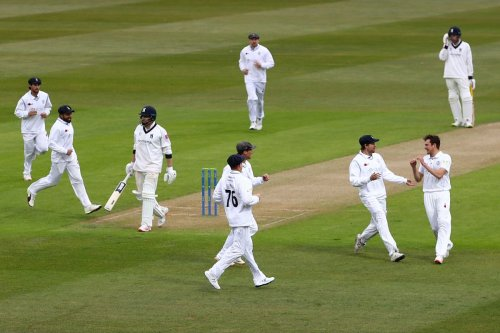 Who'd be an opener? Day to forget for batsmen as County season begins