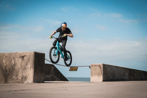 Stunt biker Danny MacAskill releases new tricks video to inspire next generation