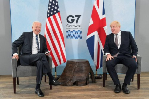 Afghanistan and climate on the agenda as Johnson meets Biden at White House