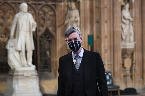 Rees-Mogg flags up MPs' coats and hats ban in defence of voter ID plan