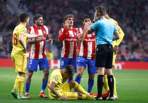 Liverpool beat Atletico 3-2 as Griezmann sees red