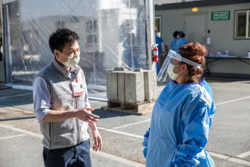 """""""Tremendously grateful"""": Running drive-through COVID operations at Stanford Health Care - Scope"""