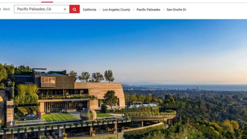 Extravagant California mansion with retractable roof sells for $83 million. Take a look