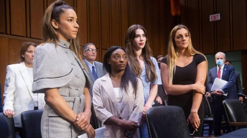 Gymnasts Simone Biles, McKayla Maroney rip FBI at Senate hearing on Larry Nassar