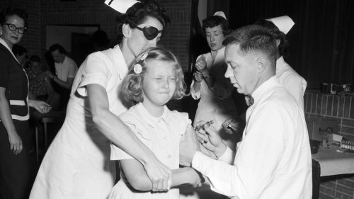 Today it's COVID-19. 70 years ago, it was a different virus that led to a new vaccine