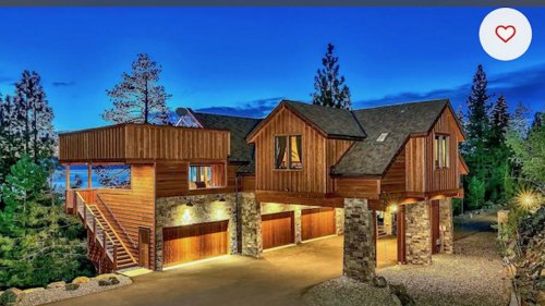 You can vacation like the Kardashians in this Lake Tahoe mansion – for $6,000 a night