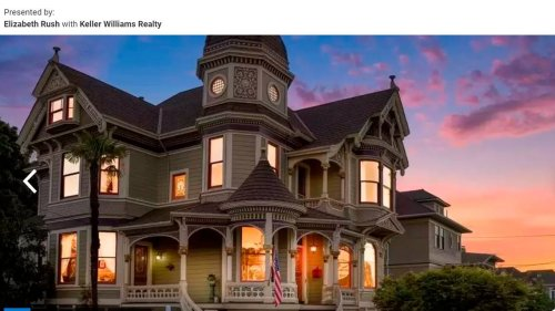 Victorian mansion — with secret hideaway — listed in California for $2.4M. Look inside