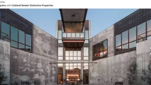 'Masterpiece' home with rooftop pool hits Idaho market for $9.9 million. Take a look
