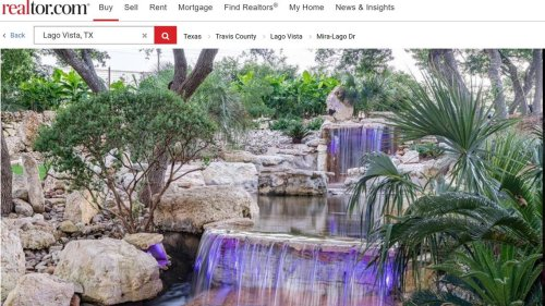 Luxurious private resort with cascading waterfalls lands on Texas market. Take a look