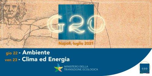 """A Napoli G20 su clima e ambiente. Cingolani: """"Non sarà una cena di gala"""""""