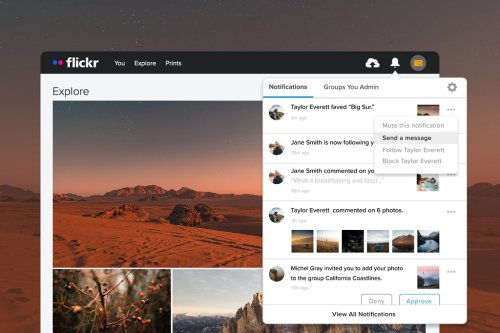 Introducing the New Flickr Notifications Center and Settings | Flickr Blog