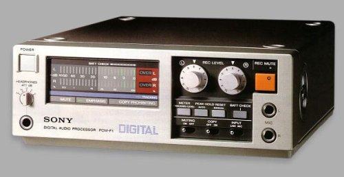 Sony PCM F1 Digital Audio Converter
