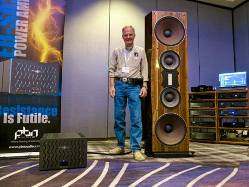 Time with the Big Boys #1: PBN, MR!777 loudspeaker, PBN Olympia amplification, PBN Olympia DX DAC, Kimber Kable
