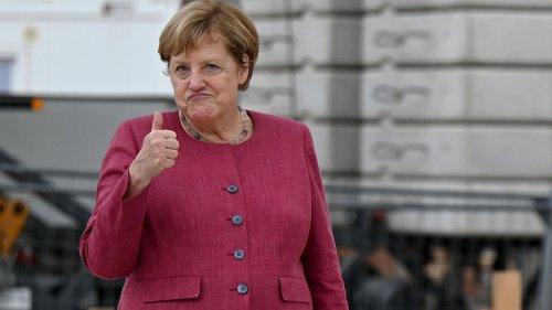 Angela Merkel verrät: Das passiert mit ihren zahlreichen Blazern