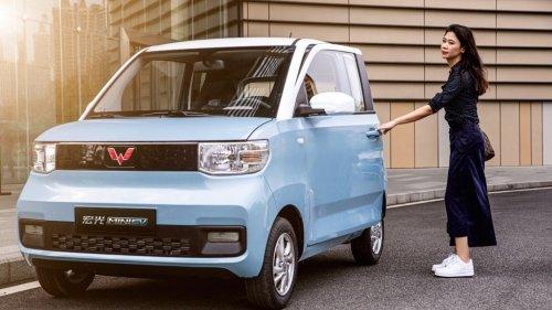 Dieser Micro-SUV aus China kostet 3600 Euro und ist das erfolgreichste E-Auto der Welt