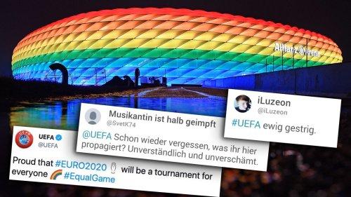 """Wirklich so """"proud""""? Wie ein alter Tweet der Uefa jetzt um die Ohren fliegt"""