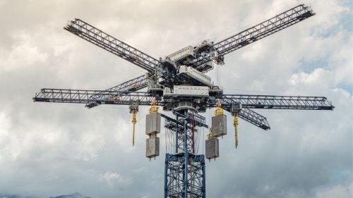 Statt Akkus: Schweizer Türme speichern Energie mit Betonklötzen