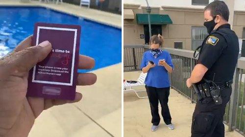 Hotelangestellte ruft die Polizei, weil eine schwarze Familie im Pool ist – diese ist aber zu Gast