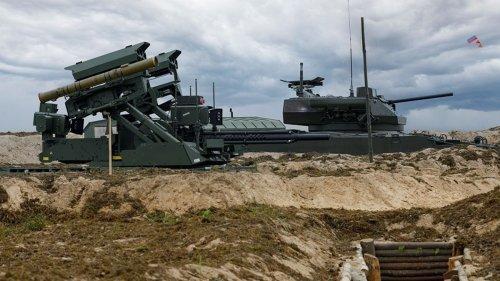Putins Roboter kämpfen in einer Panzerschlacht