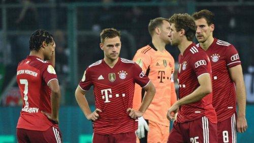 0:5-Pleite – Bayern gehen in Gladbach unter