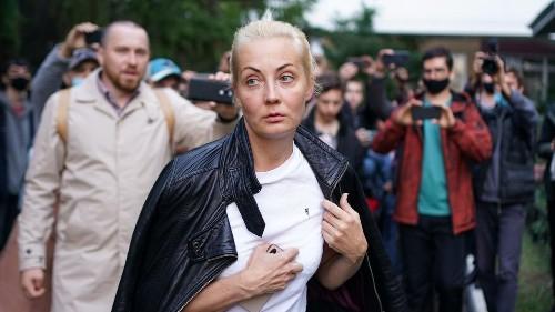 Ehefrau von Nawalny bei Protest in Moskau festgenommen
