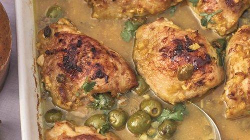 Marrakesch auf dem Teller: Aromatisches Ofenhähnchen, wie es die Pionierin der Mittelmeerküche kocht