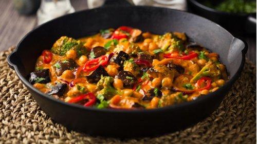 Genuss aus Indien: Rezept für ein veganes Auberginen Tikka Masala