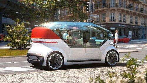 Die Zukunft der Innenstädte: VW stellt autonomes Elektroauto vor