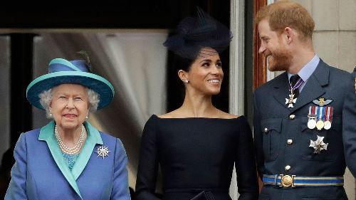 Queen hält Fernsehansprache kurz vor Interview von Harry und Meghan