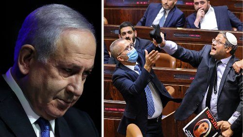 Die Ära Netanjahu ist vorbei – heftige Tumulte in Israels Parlament