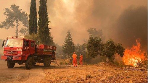 Waldbrände bei Antalya außer Kontrolle – Auswärtiges Amt rät Reisenden zur Vorsicht